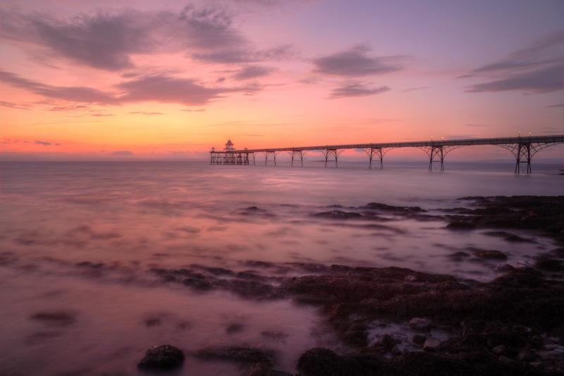 Clevedon Pier Seaweed