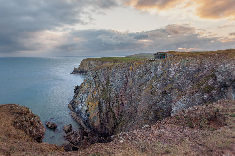 Cliff Cafe at the Mull of Galloway