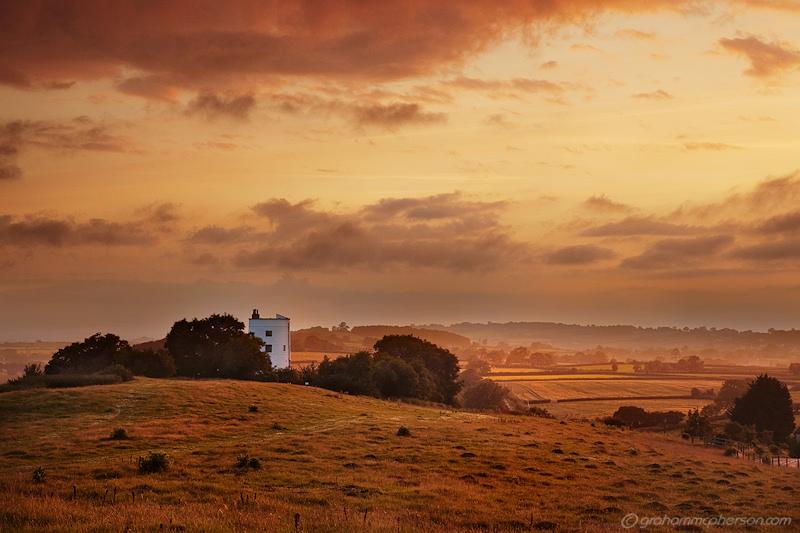 Walton Windmill Sunset